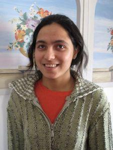 Manhiza, vent'anni, iscritta al secondo anno di legge all'università di Kabul (ph Romina Gobbo)