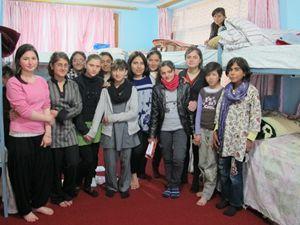 Ragazzi di un orfanotrofio gestito dalla Ong Afceco (ph Romina Gobbo)