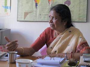 Bimla Chandrasekar, direttrice di Ekta, Resource Centre for Women, Madurai