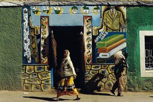 Negozietto di un sarto a Harar (foto J. HICKS/CORBIS)