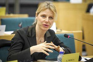 L'on. Alessia Mosca, del gruppo Socialisti e Democratici