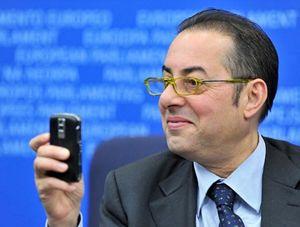 L'eurodeputato Gianni Pittella, capogruppo dei Socialisti e Democratici