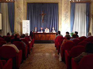 Il dibattito su fedi e ambiente al Festival Biblico (ph R. Gobbo)