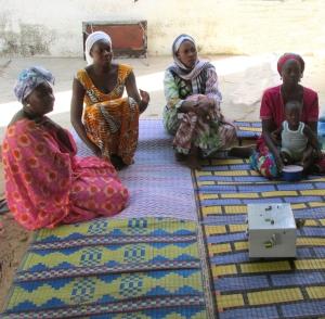 Donne del progetto Village Saving and Loans Association - VSLA di Plan Italia in Senegal (ph Inspire)