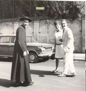 Don Mazzucato, giovanissimo, ai primi tempi del Cuamm