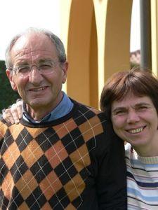 Renzo Fior e la moglie Silvana Nogarole