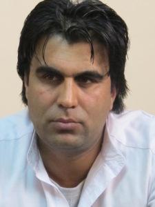 Il giornalista Naseer Fayaz (ph RG)