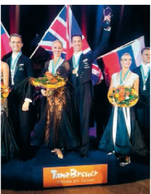 All'incoronazione da campioni europei a Bonn