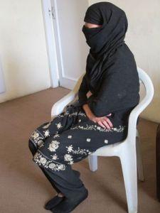 Una delle donne ospitate nello shelter (ph Romina Gobbo)