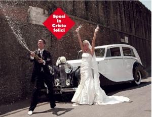 Il giorno del loro matrimonio a Roma cinque anni fa