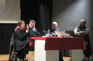 Un momento della serata dedicata al progetto #dallapartediNice (foto di Romina Gobbo). In copertina: Marveille, in primo piano, con il vestito azzurro (foto di Francesco Cavalli)